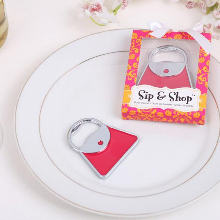 (20 pieces/lot)Free Shipping Red Handbag Bottle Opener Delicate Gift Box Packing Wedding & Party Gift Souvenirs