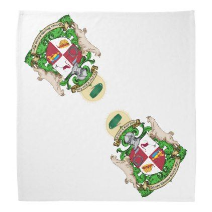 #Order of St. Luis Coat of Arms Graphic Bandana - #wedding gifts #marriage love couples