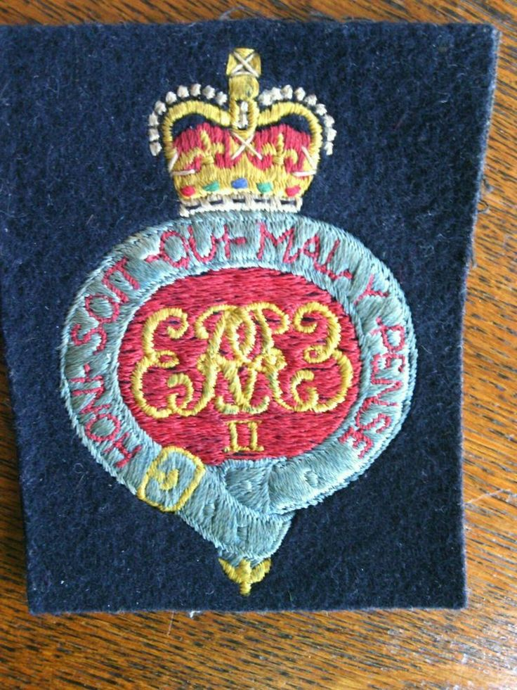 Royal Grenadier Guards Blazer Badge Hand Embroidered Bullion Wired Gold Silver   eBay