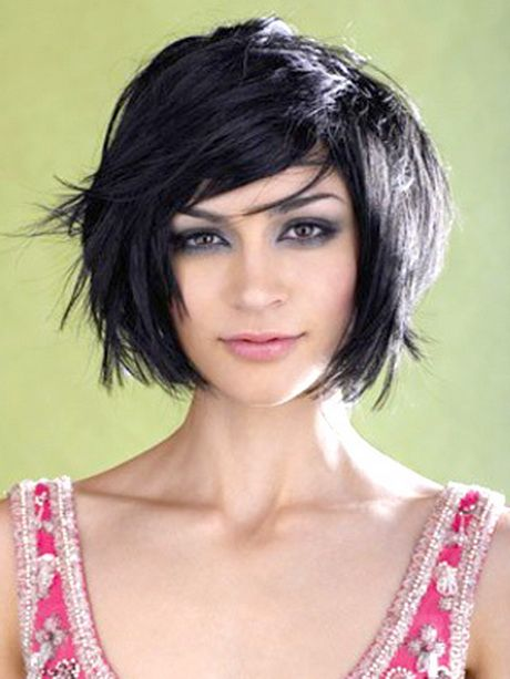 Edgy medium length haircuts