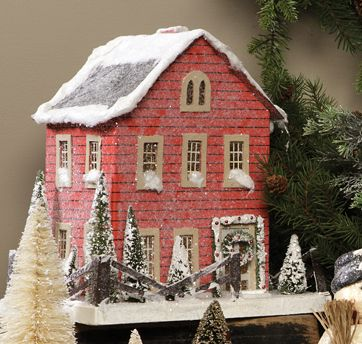 Display Products. Christmas house