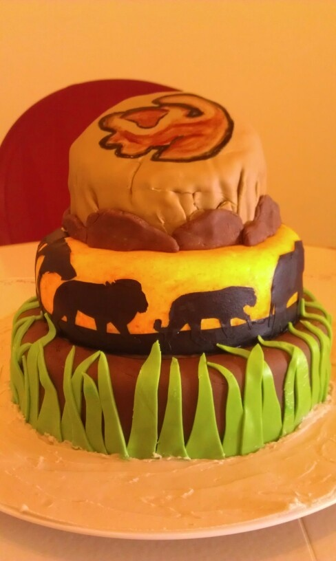 Lion King Cake Decoration Ideas : 43 best images about Ized birthday party on Pinterest A lion, Lion king party and Showers