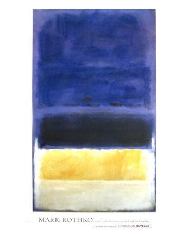 my favorite Rothko prints. Reminds me of our wedding :)