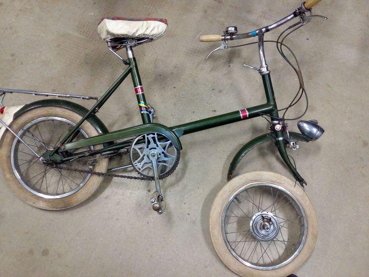 "Raleigh vintage,cambio sul mozzo Sturmey Archer,ruote 16"""