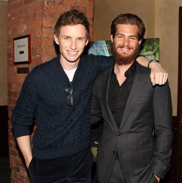 Andrew Garfield and Eddie Redmayne ar best friends - Eddie Redmayne: 10 reasons we love the 'Fantastic Beasts and Where to Find Them' star
