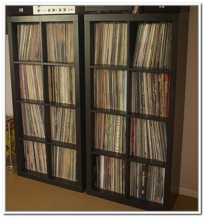 ikea kallax for vinyl records. Black Bedroom Furniture Sets. Home Design Ideas