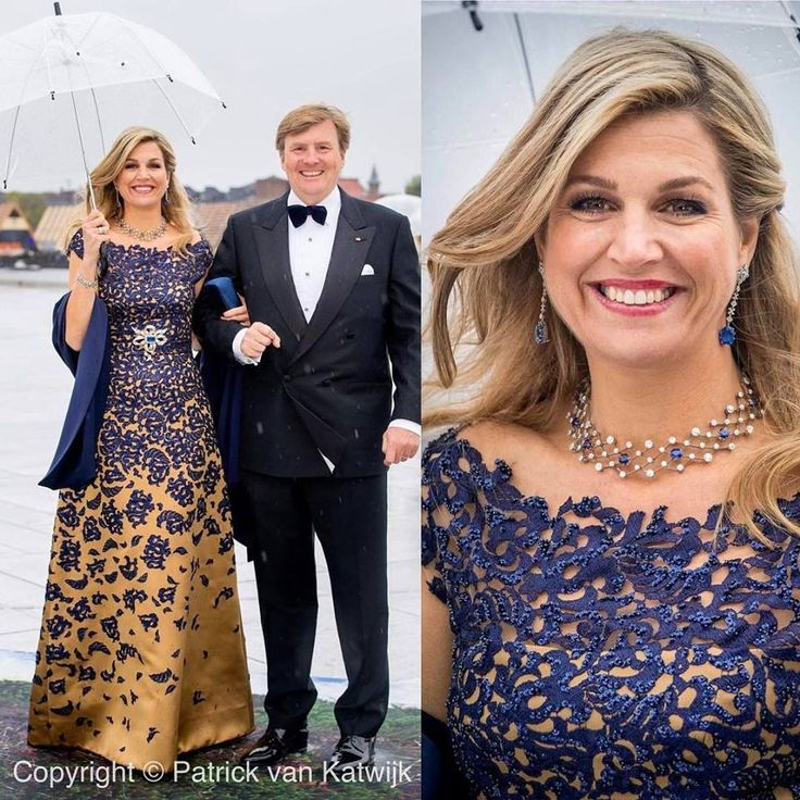 Tweede feest tgv verjaardag Koning Harald en koningin Sonja.   ModekoninginMaxima.nl