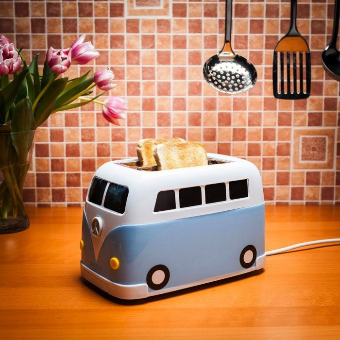 Maquina para hacer pan tostado en forma de camioneta