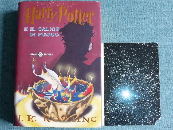 J.K. Rowling - Harry Potter e il calice di fuoco #bookandpostcard