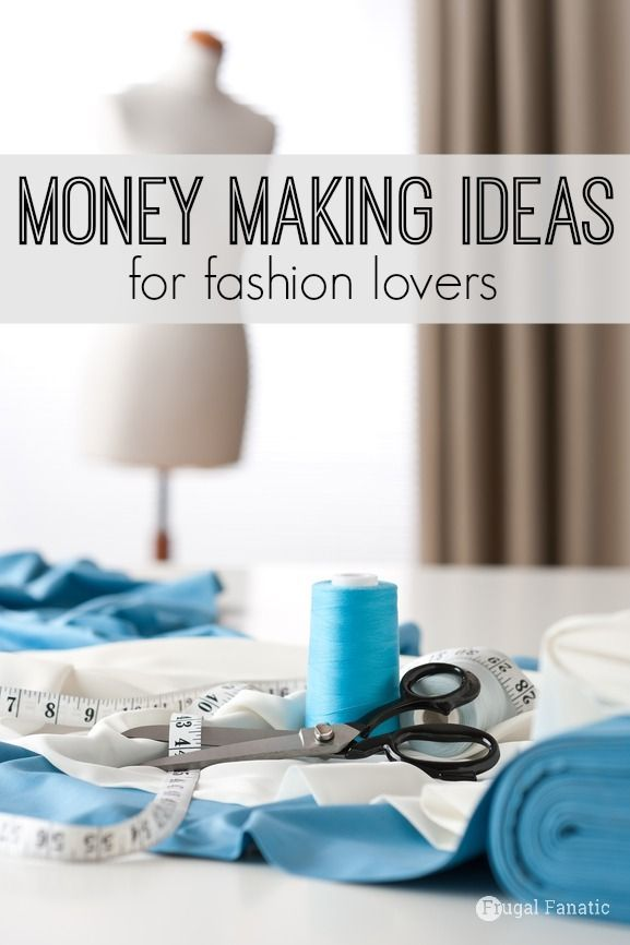With today's technological advances, women are able to work from home in the fashion industry without any formal education. So if you've been looking for a money-making gig within the fashion industry -- here are 5 different fashion careers to try on for size. Make Extra Money #Money #MakeMoney