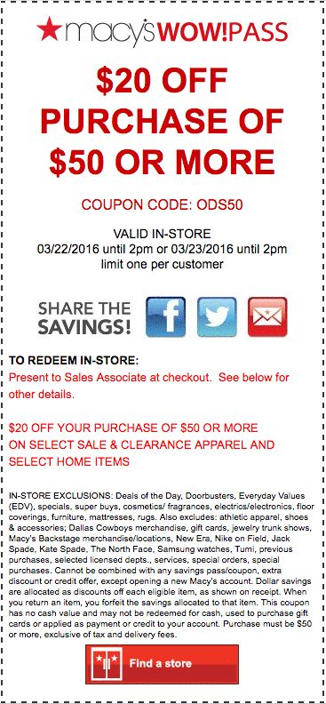 37 best Macyu0027s Coupon Codes \ Printable Coupons images on - macy sales associate sample resume
