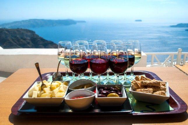 Santorini Island – 5 Senses