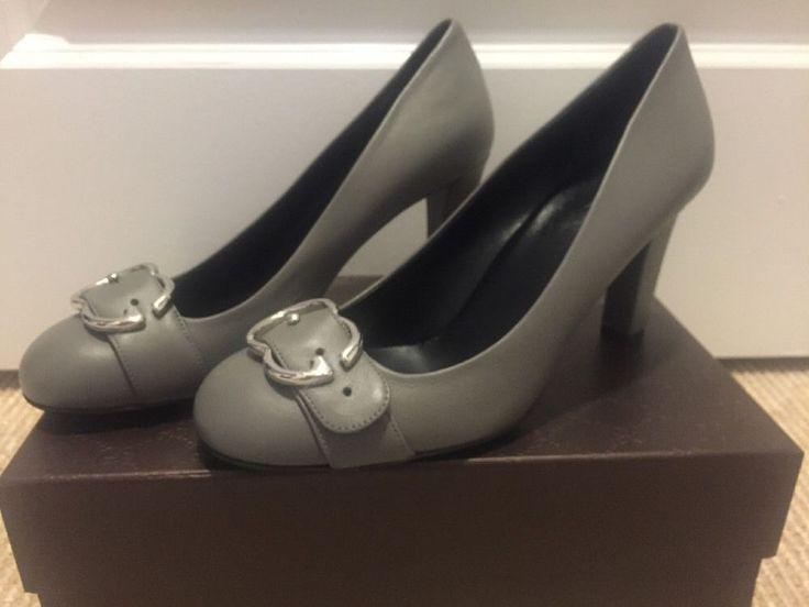 NWT Women's GUCCI Grey Pumps Size 38+ #Gucci #PumpsClassics