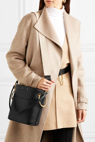 dec0c77ba8035 Chloé | Roy small leather bucket bag | NET-A-PORTER.COM | random ...