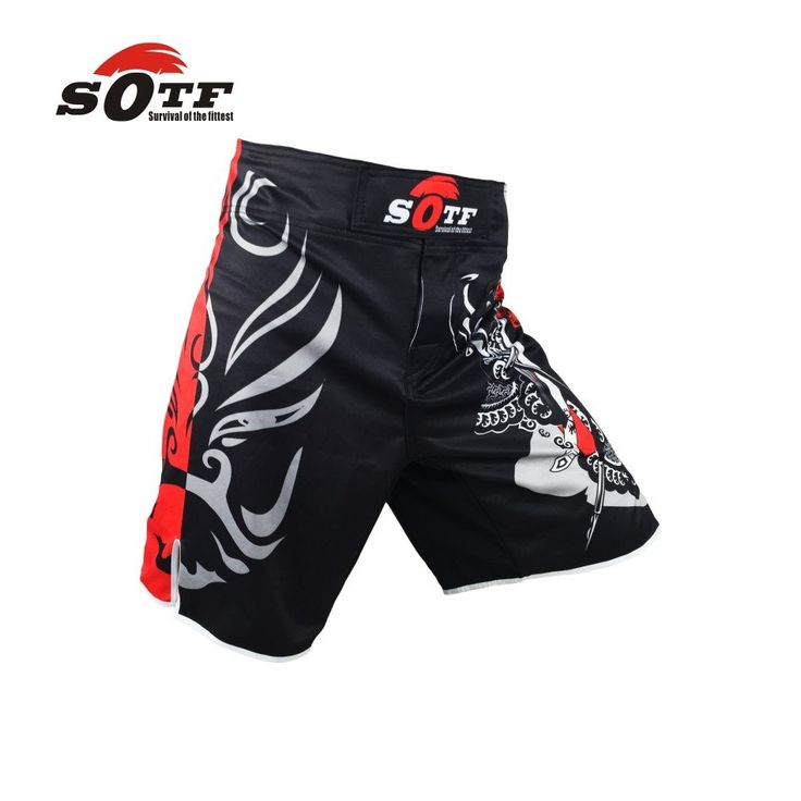 SOTF MMA Shorts Boxing Muay Thai Boxing Trunks Hayabusa Tiger Muay Thai Kickboxing Fight Wear