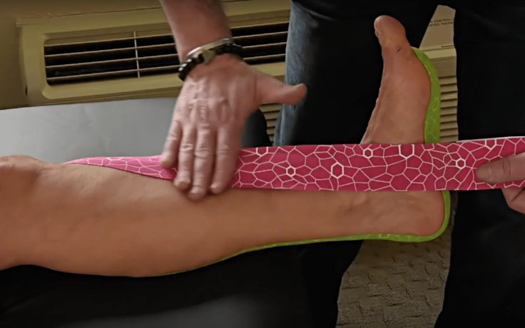 plantar fasciitis taping instructions