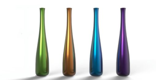 BLOB Presenting a collection of vase in colored glass to make a difference to your home decor.