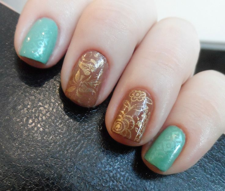 Fairy Nail Art: 41 Best Images About My Humble Nail Art Tries On Pinterest