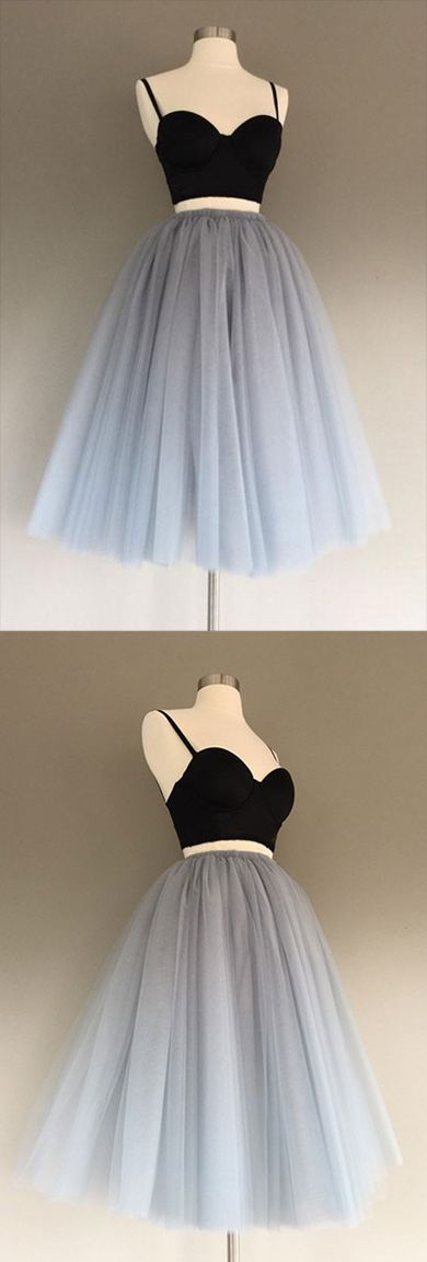 Homecoming Dress,Homecoming Dress Short,Prom Dress Short,Cheap Prom Dresses,Cheap Homecoming Dresses,Cheap Evening Dress,Homecoming Dresses Cheap,Quality Dresses,Party Dress,Fashion Prom Dress,Prom Gowns,Dresses for Girls,Prom Dress,Simple Prom Dresses,Gray Tulle Charming A-Line Two-Piece Short Homecoming Dress, SH231