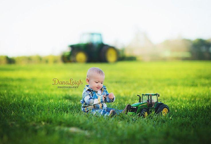 Baby farm boy