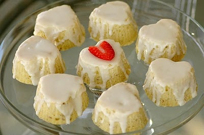 Lavender-Lemon Pound Cakes