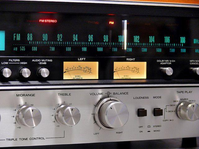 """Sansui - 7070 ,Vintage Audiophile Stereo Receiver"" !...  http://about.me/Samissomar"