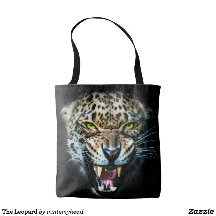 The Leopard Tote Bag #bag #totebag #backpack #travel #gift #black #friday #shopping #product #cool #funny #animal #tiger #lion