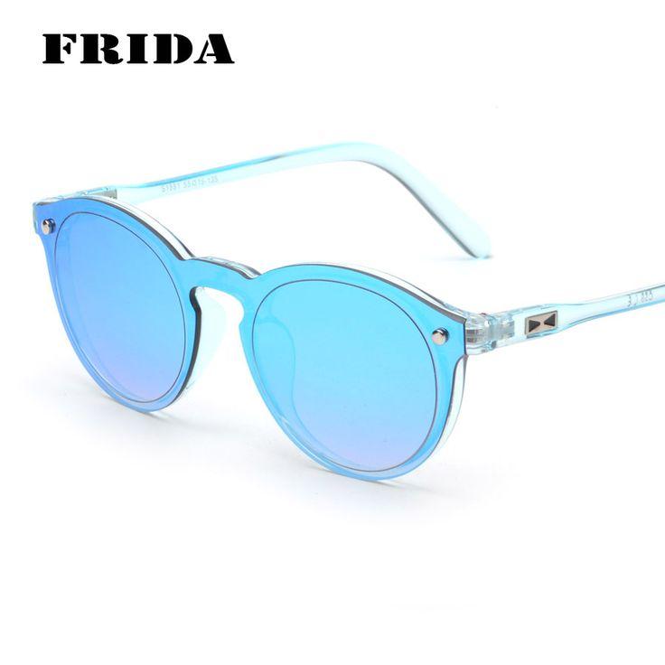 FRIDA Fashion Points Colorful Reflective Mirror Sunglasses Mens Sunglasses Vintage Round Glasses Womens Sun Glasses Gafas de sol #Affiliate