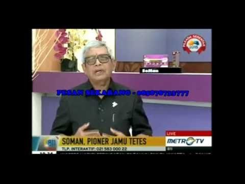 Testimoni Soman on Metro TV - Pesan 085878733777