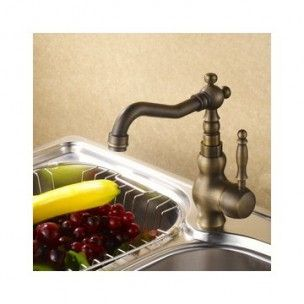 Single Handle Chrome Centerset Pull-out Kitchen Tap (TP0748)