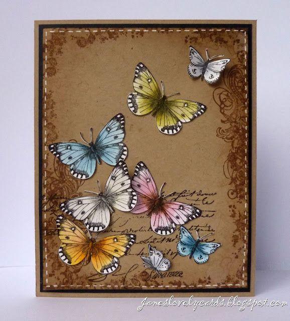 Stempelglede :: Design Team Blog: A Flutter of Butterflies - Jane Johnson