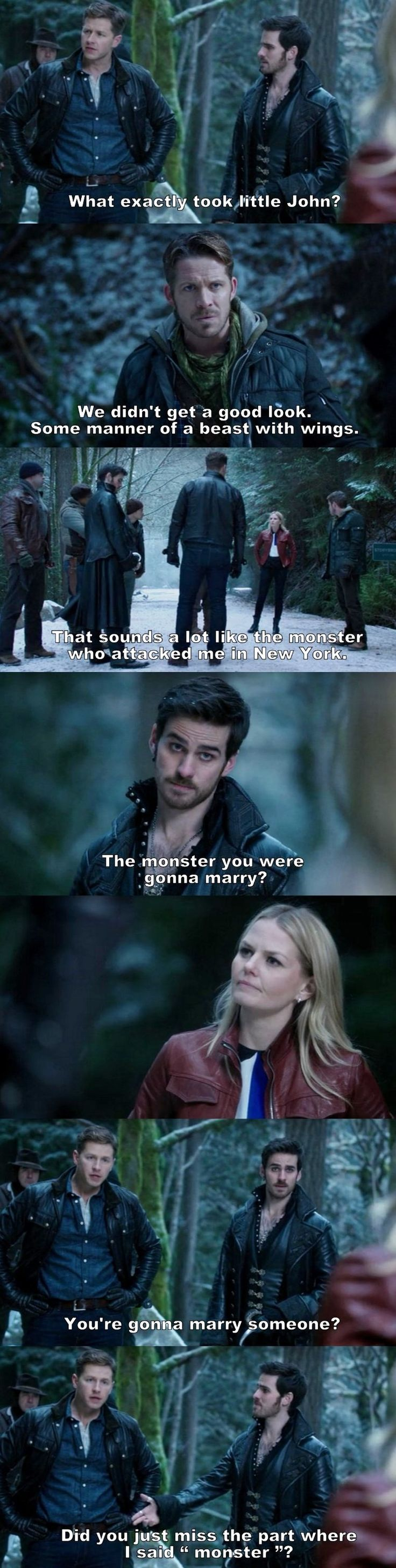 Once Upon a Time S03E13 <<< Sounding like a family already; this scene is definitely one of my Top 10 favorites!