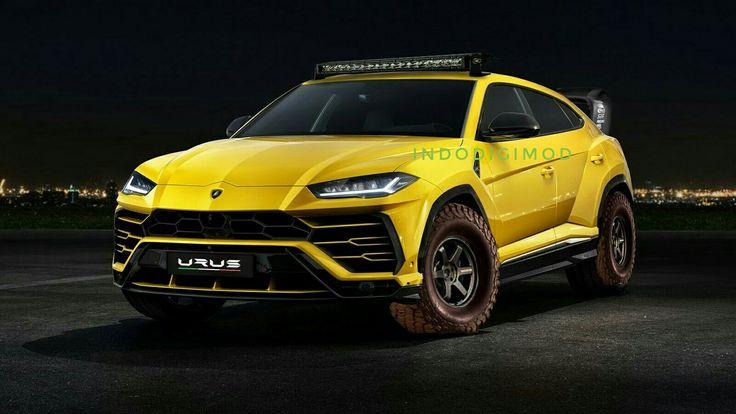 Lamborghini Urus Rally Look