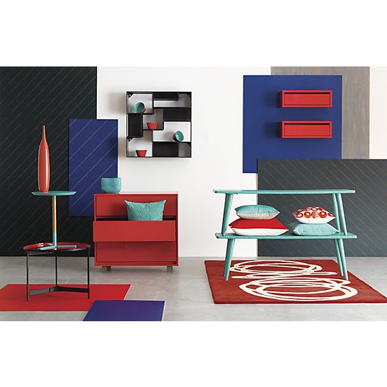 shop red chest | CB2