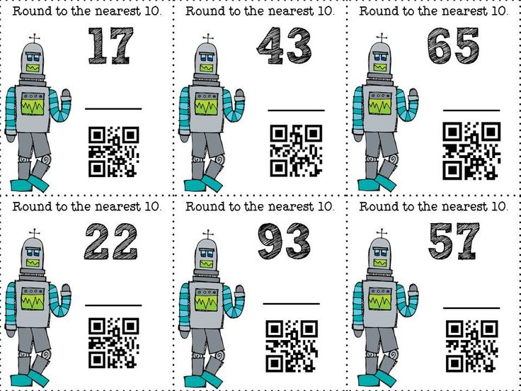 155 best qr codes images on pinterest qr codes code art and coding qrobot educational use of qr codes children are asked to round numbers to the fandeluxe Gallery