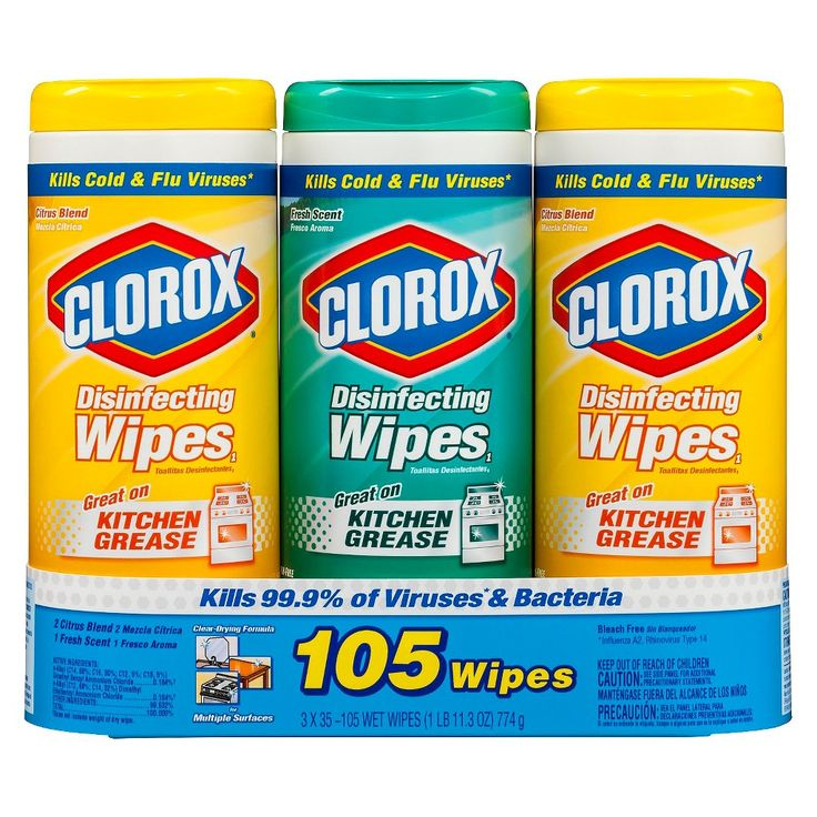 Clorox Disinfecting Wipes Value Pack, Bleach Free Cleaning