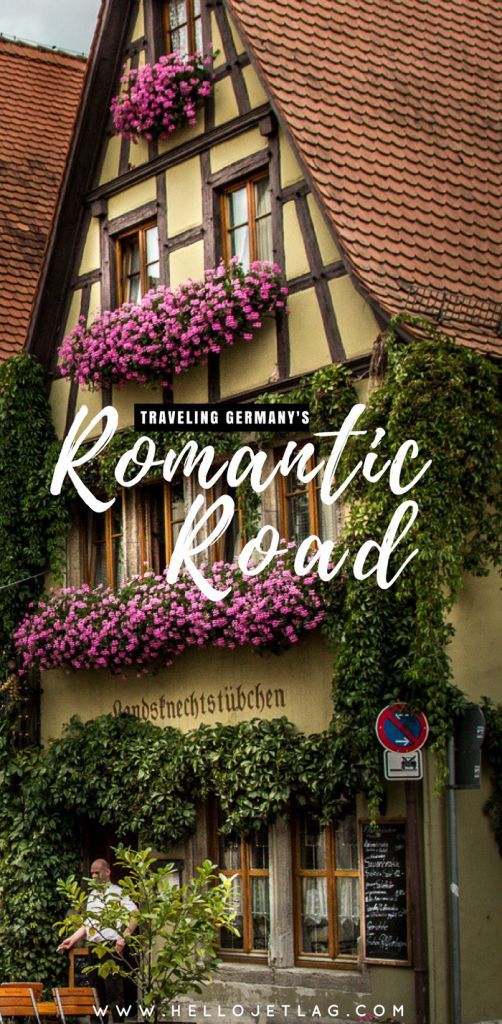 The Romantic Street Germany Journey Information // Ideas, Maps & Itinerary