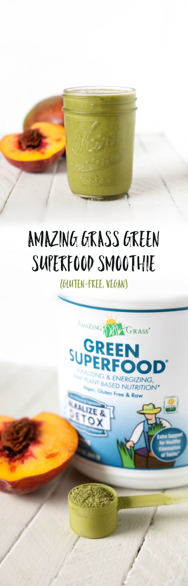 Amazing Grass Green Superfood Smoothie | Gluten-free, Vegan | The Plant…