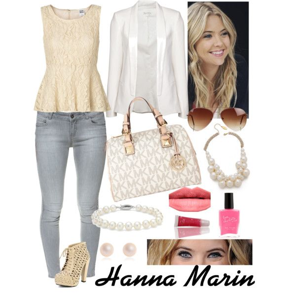 Hanna Marin style from PLL( My style)