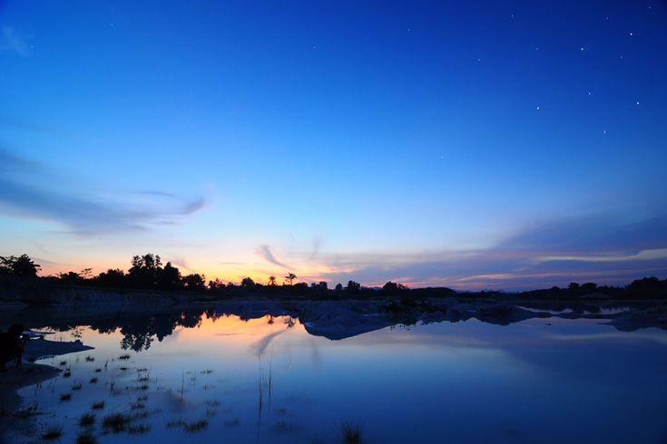 Kaolin, Belitung, Indonesia
