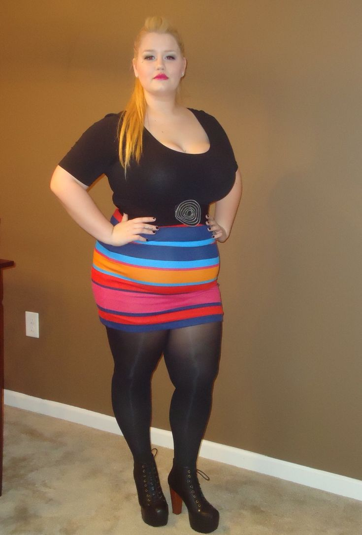 Bbw In Tights 105