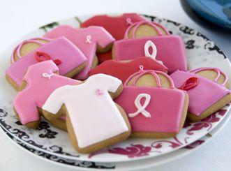 breast cancer awareness bake sale idea
