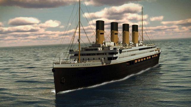 El Titánic II cruzará los mares en 2018