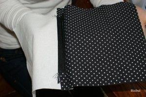 Petite pochette zippée #Cours de couture - Bizibul