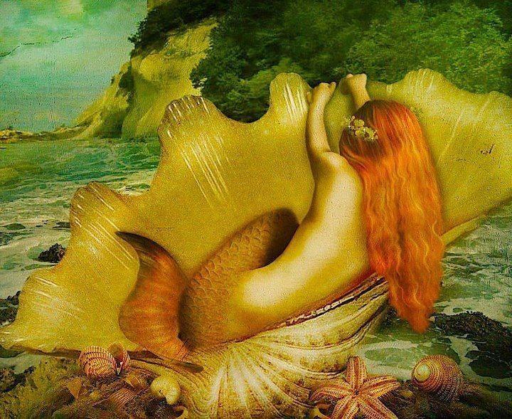 Aphrodite mermaid...