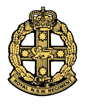 Royal New South Wales Regiment.