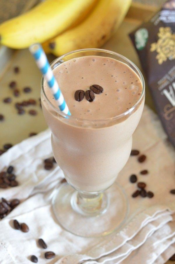 Coffee Banana Breakfast Smoothie