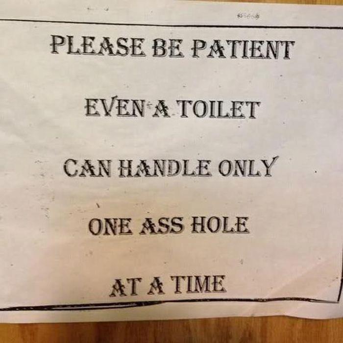 Bathroom Sign Sayings 23 best bathroom signs images on pinterest | bathroom signs