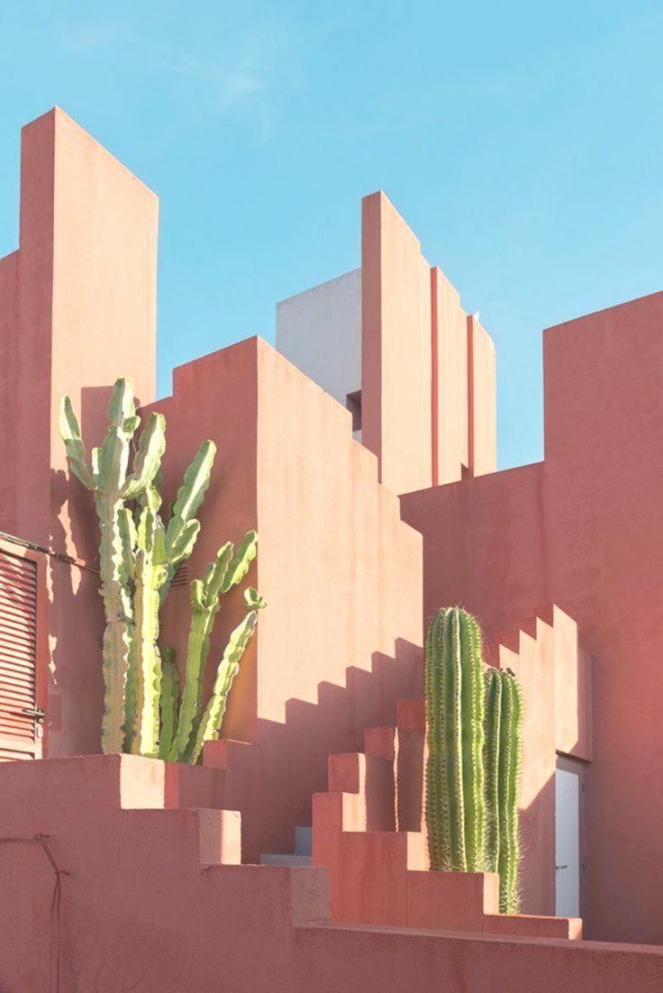 86ea61177 andres gallardo captures the bold hues of 'la muralla roja' - #andres #