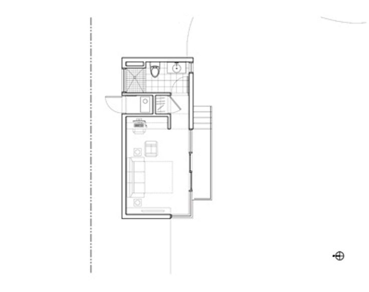 24 best small house floor plans images on pinterest for Studio guest house plans